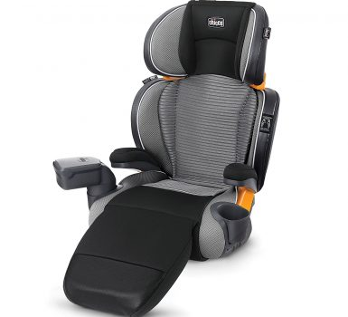 Chicco KidFit Zip Air Plus 2-in-1 Belt Positioning Booster Car Seat