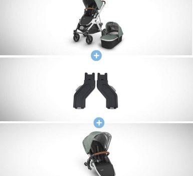Vista Stroller+ RUMBLESEAT Bundle- Emmett