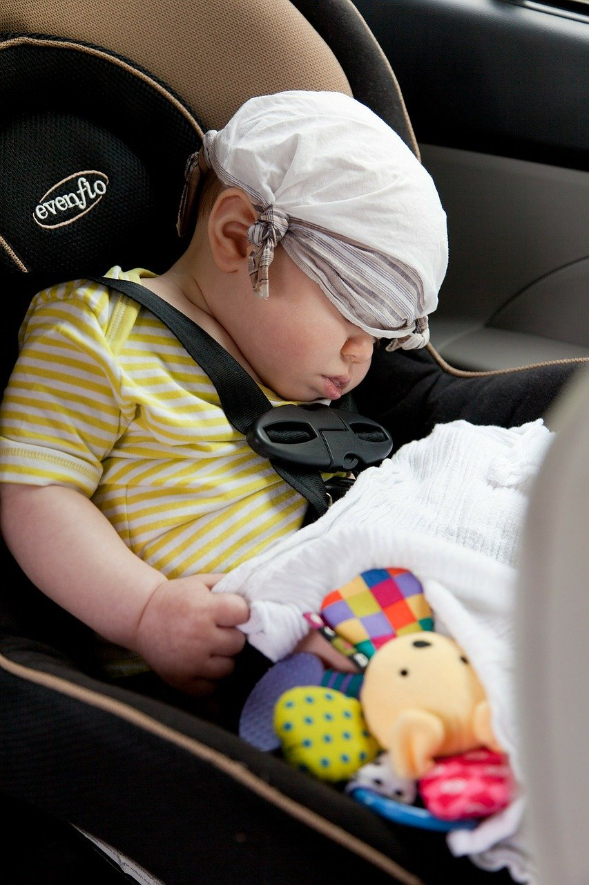 Which car seat is safest to move with the baby?