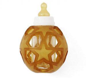 HEVEA 2in1 Baby Glass Bottle